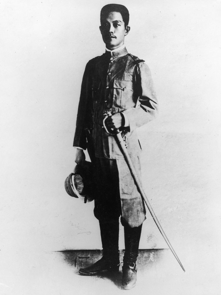 Emilio Aguinaldo ruled the Philippines for three years at the beginning of the 20th century