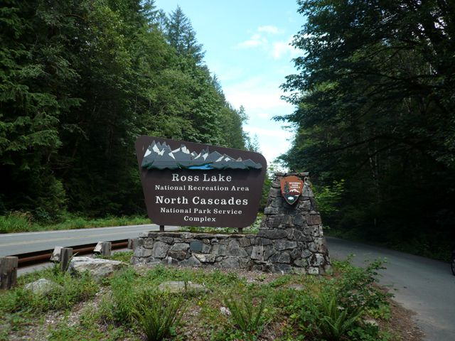 Western Highway 20 Entrance to North Cascades National Park