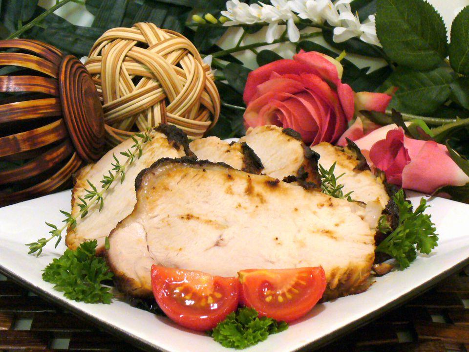 pork, recipes, loin, roast, pepper, jelly, worcestershire, mustard, receipts