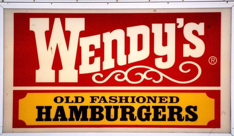 wendy's hamburgers logo