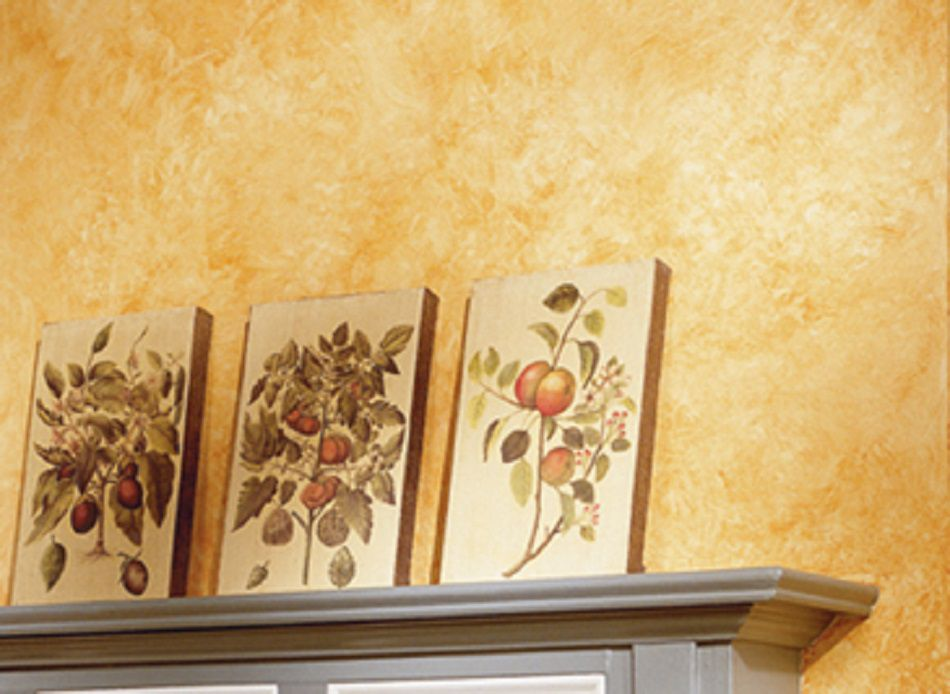 Decorative paint techniques for bedroom walls for Faux wall painting