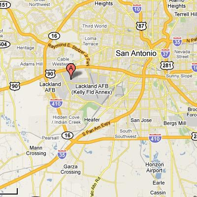 Air Force Joint Base San AntonioLackland Texas - Air force bases in the us map