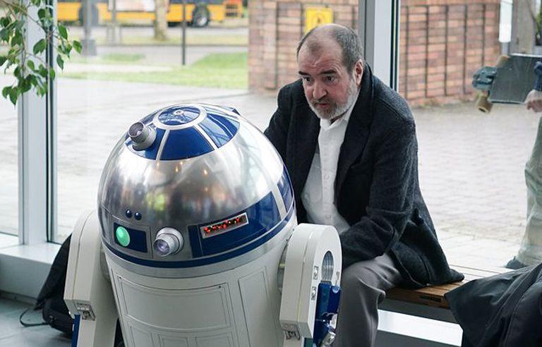 Tony Dyson with R2-D2