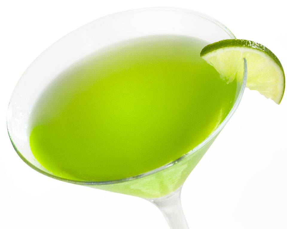 Easy Japanese Slipper Cocktail - Midori Recipe