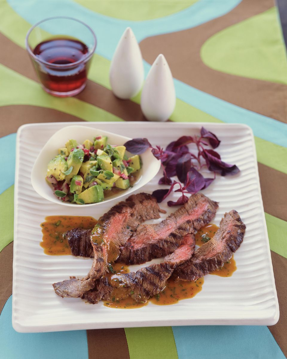 Spicy Skirt Steak