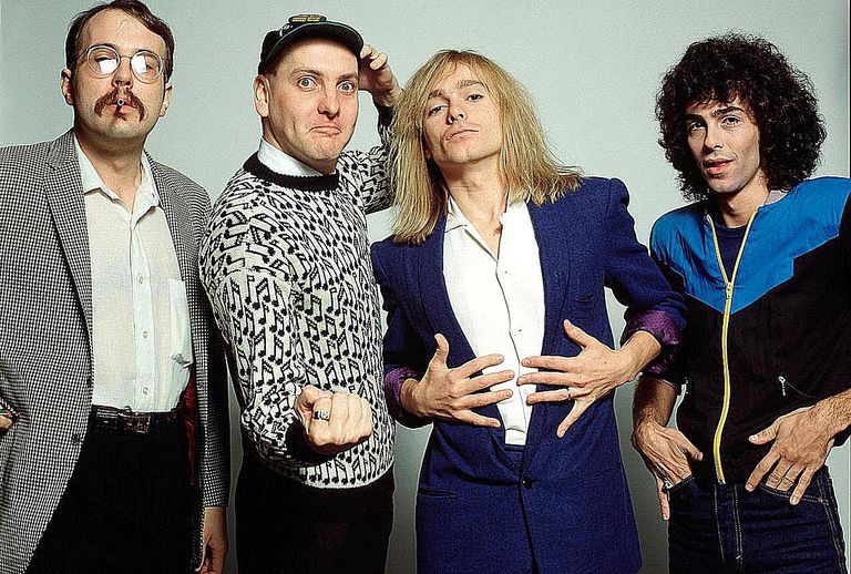 Cheap Trick, from left to right: Bun E. Carlos, Rick Nielsen, Robin Zander, Tom Petersson.