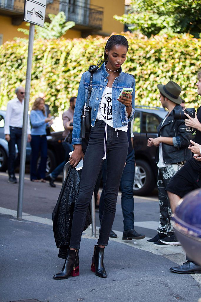 10 stylish ways to wear a jean jacket this summer