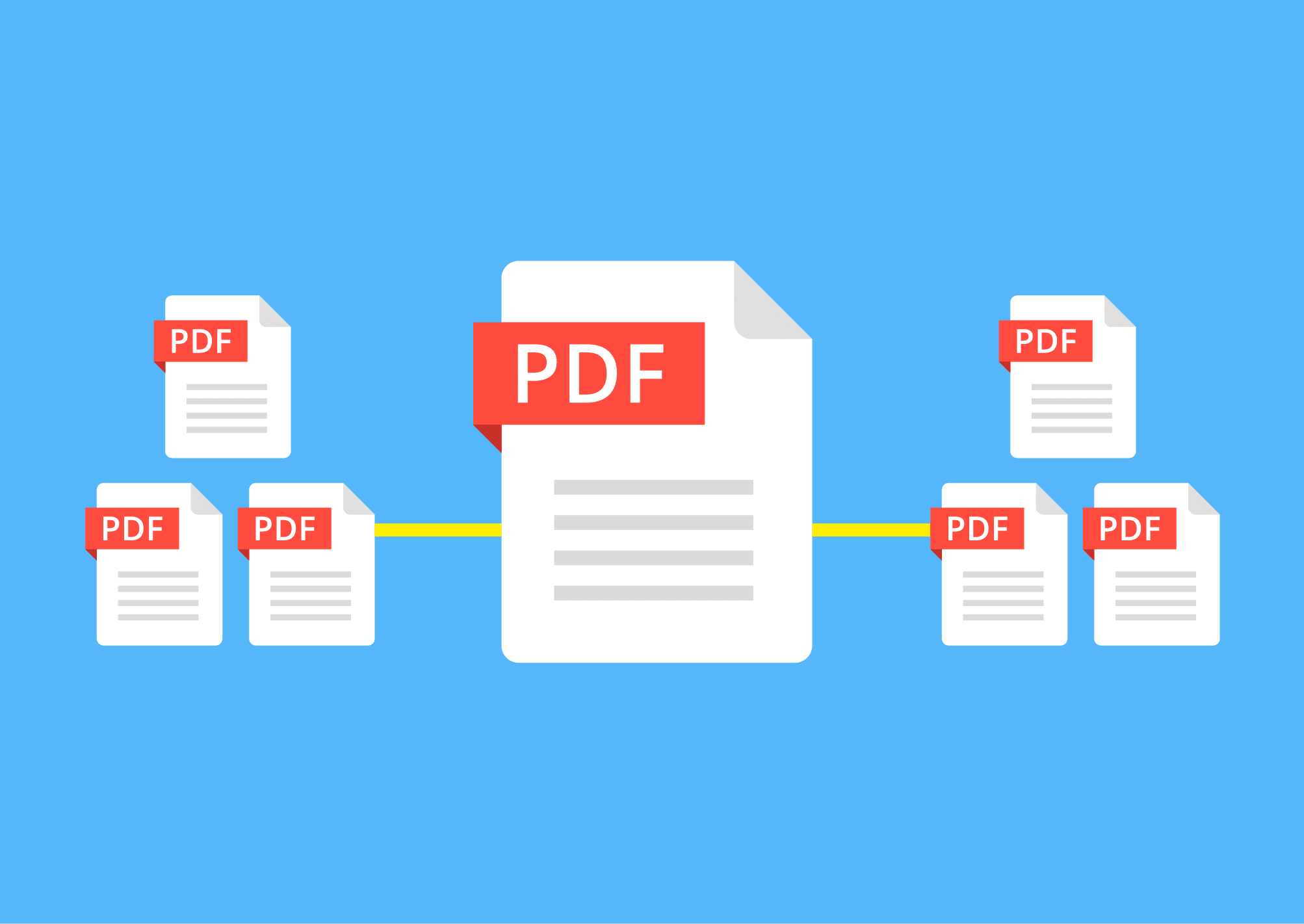 how to add pdf files into one