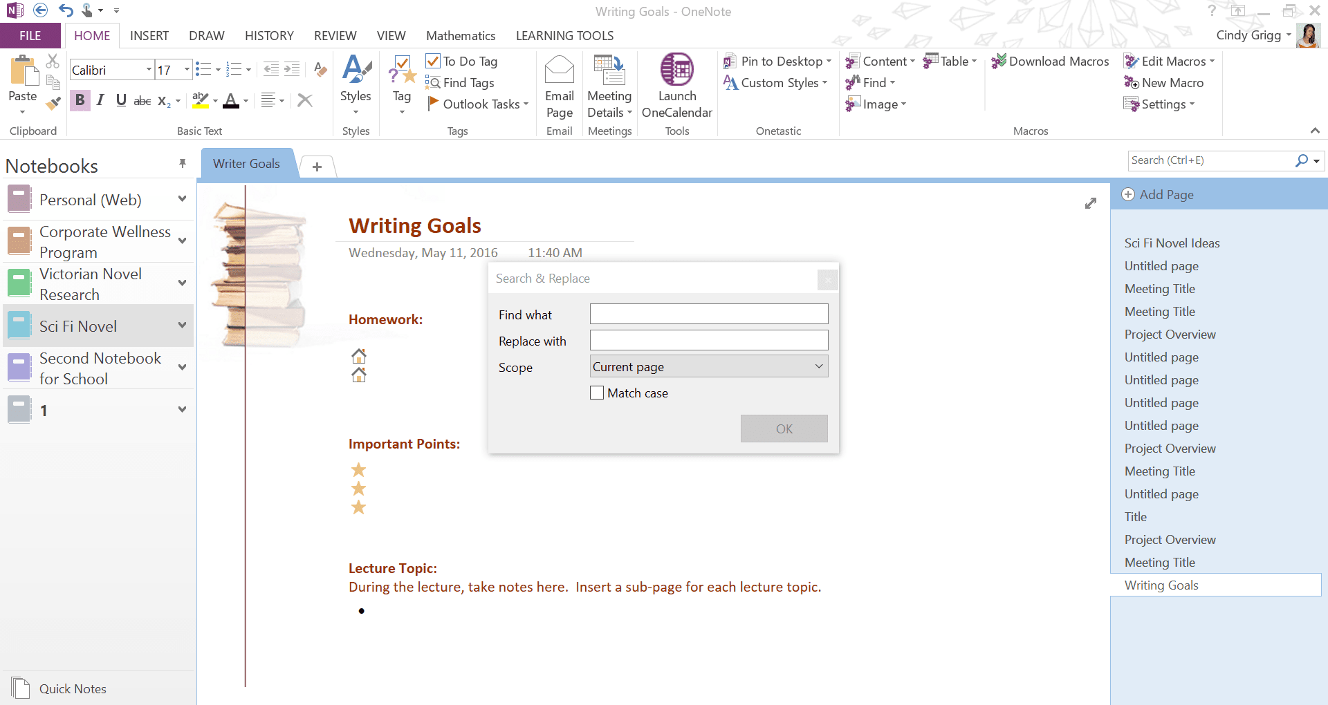 templates for onenote 2010 - review of the onetastic add in for microsoft onenote