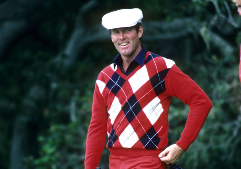 Golfer Tom Weiskopf during the 1982 US Open