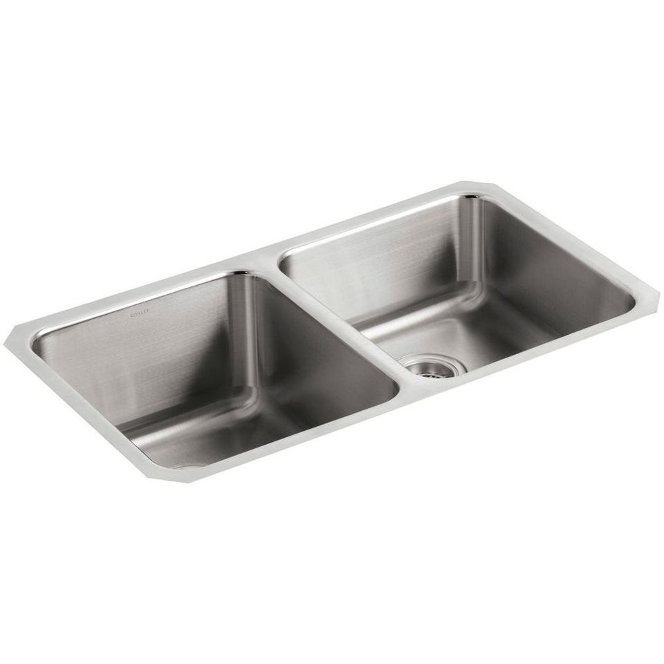 Undermount kitchen sink overview and buyers guide kohler satin double bowl kitchen undermount sink workwithnaturefo
