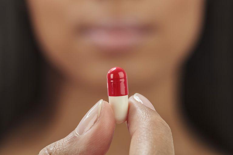 Close up of capsule