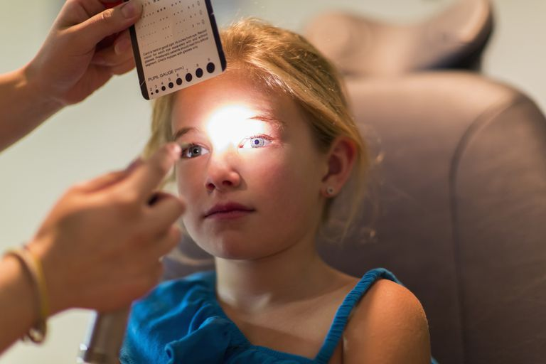 child eye exam