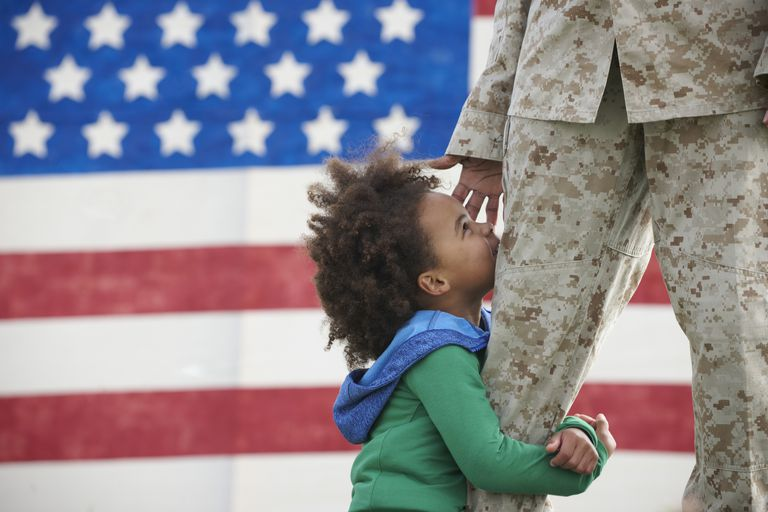 Parental deployments can be especially tough on young children.