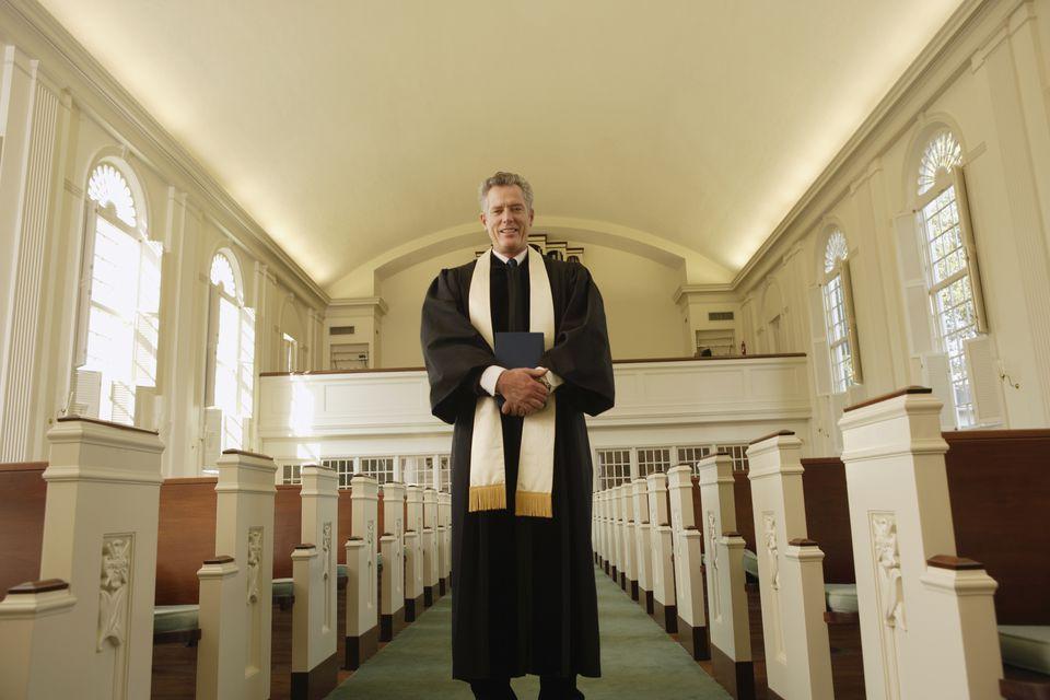 Minister at Church