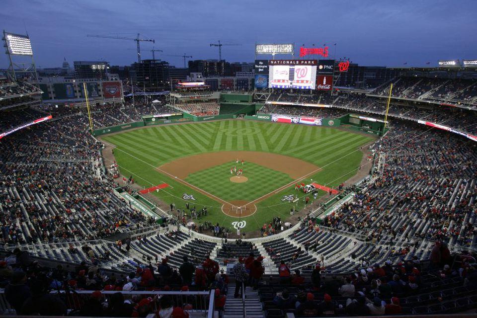 Nationals Park Baseball Field