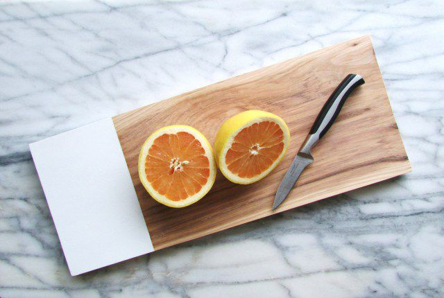 DIY Hickory Cutting Board