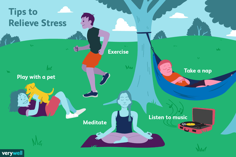 tips to relieve stress