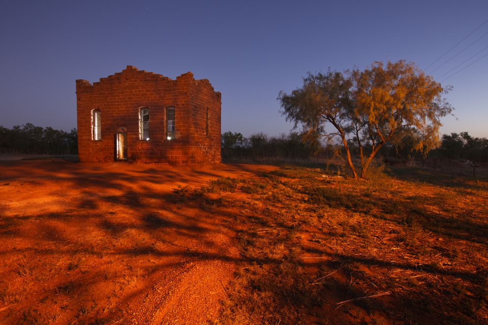 Old Kent County Jail, a more than 120 year old jail in the ghost town of Clairemont