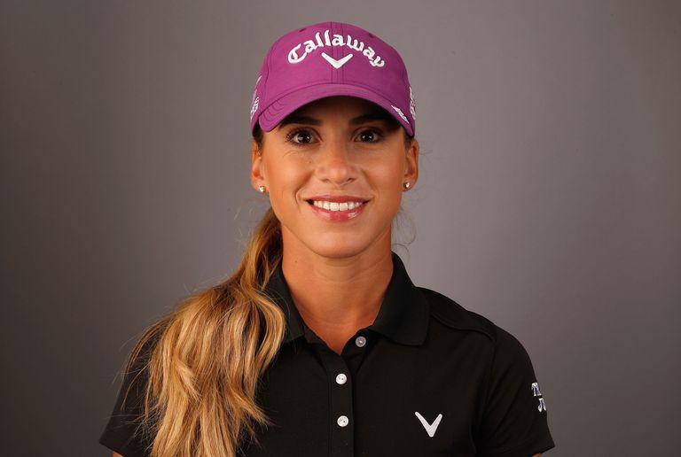 Portrait of LPGA golfer Belen Mozo