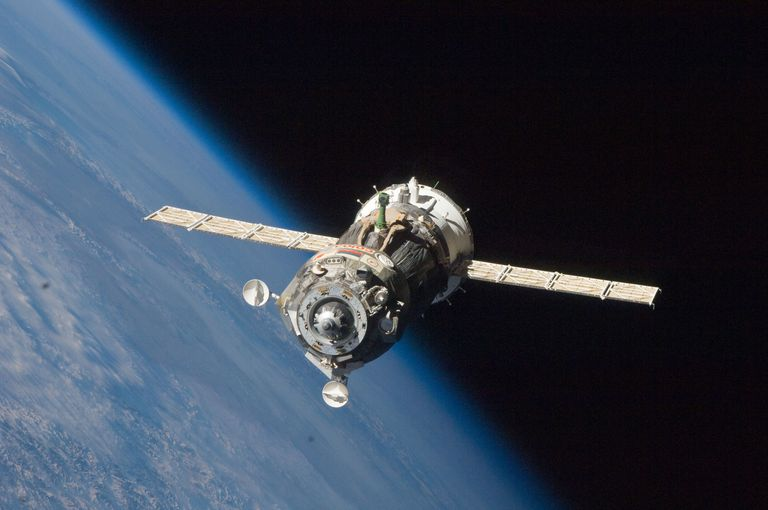 Russian space capsule