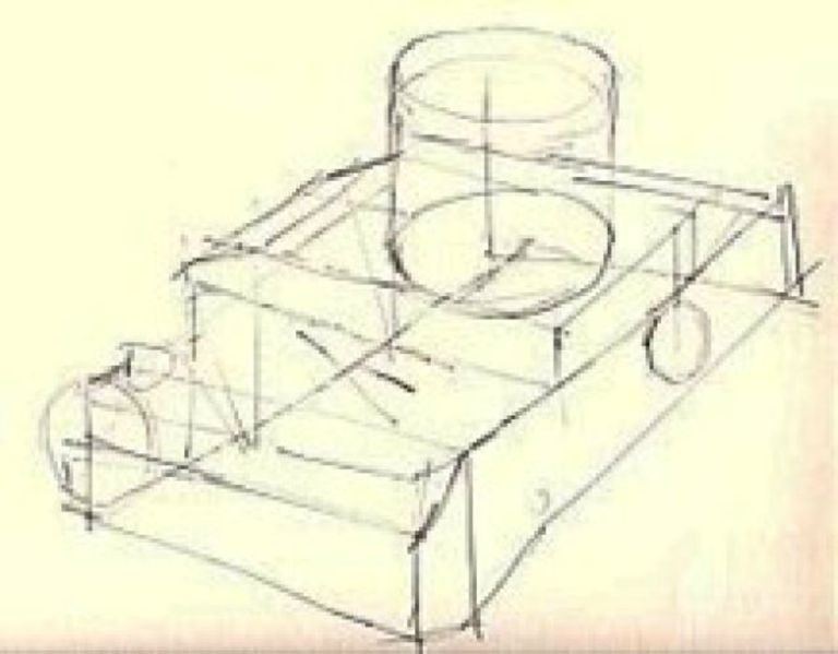 camera structure drawing