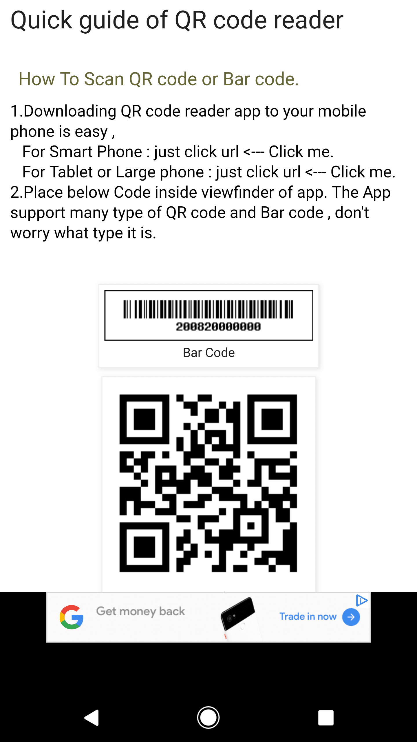 How to scan qr codes on your phone fandeluxe Gallery