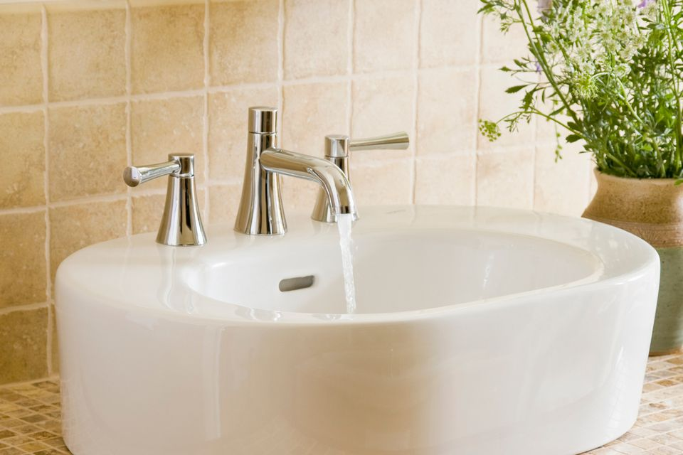 How to Install a Two-Handle AquaSource Bathroom Faucet