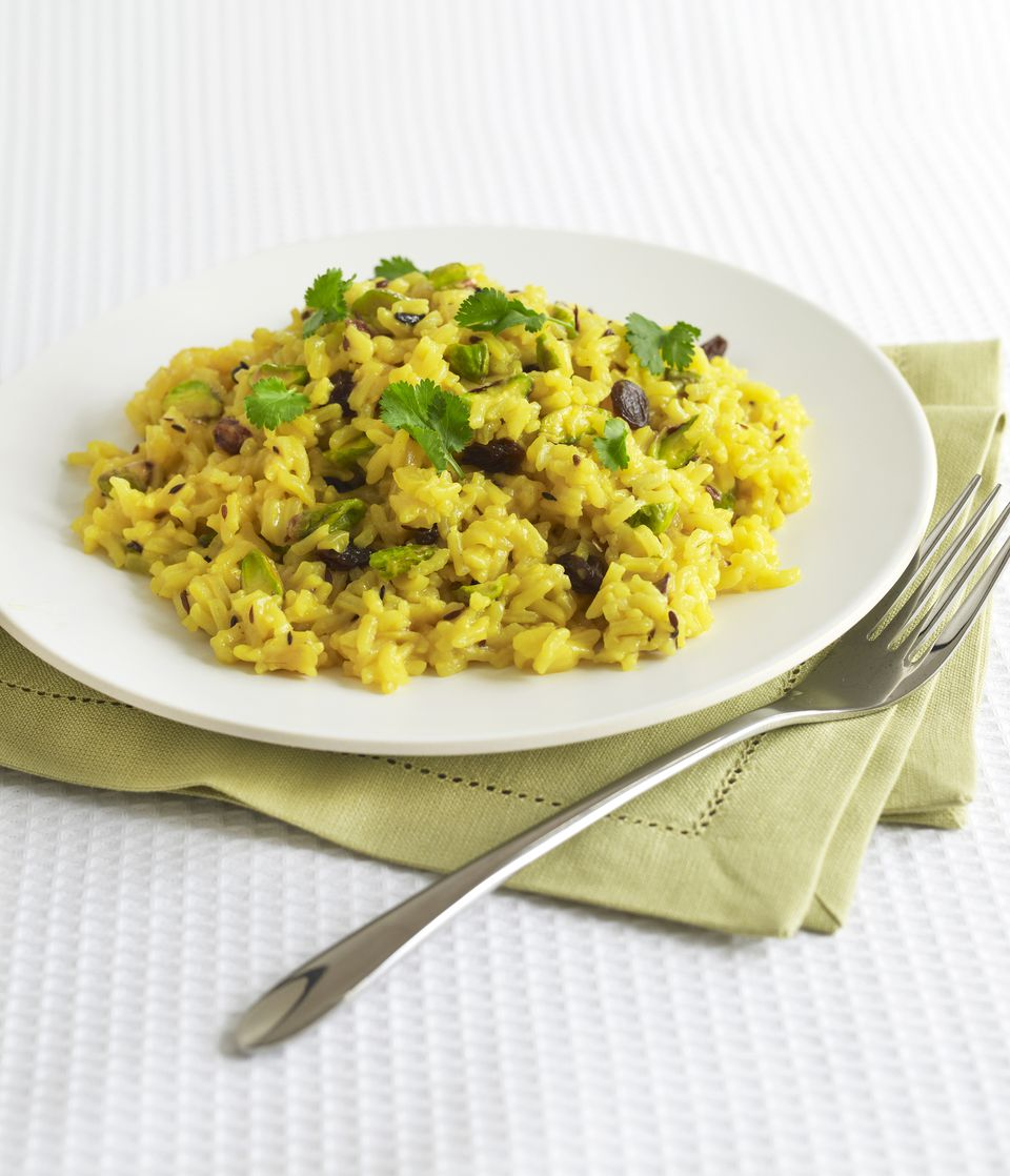 Persian pilaf saffron rice
