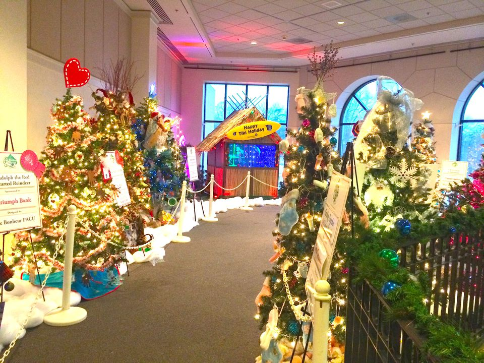 Pink Palace Memphis Enchanted Forest Festival Of Trees
