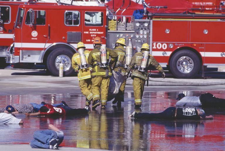 Multiple Departmental Agents During Mass Destruction Assistance Training