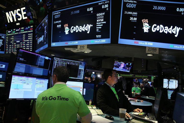 GoDaddy IPO on the New York Stock Exchange (NYSE)