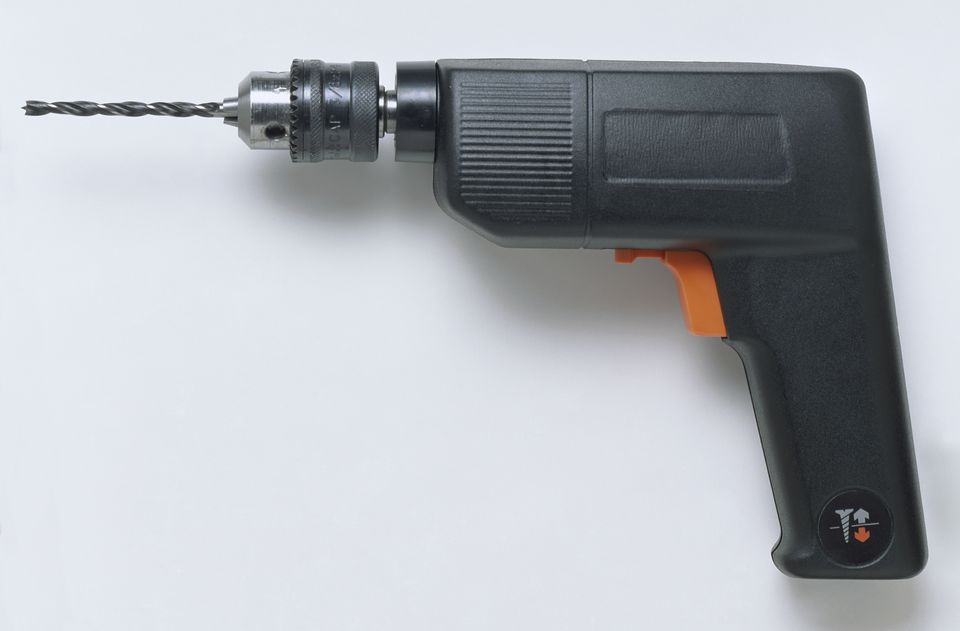 An electric drill.