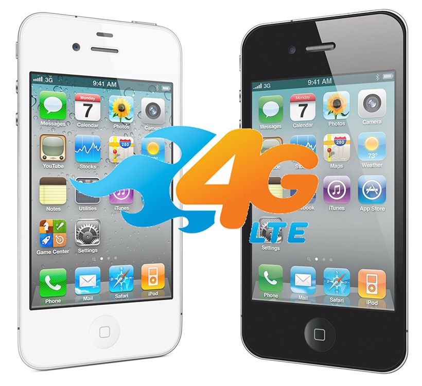 what does i mean in iphone are the iphone 4 and iphone 4s 4g phones 7699