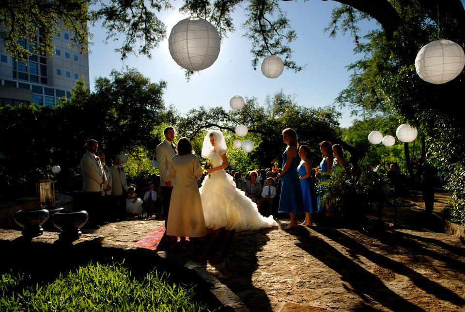 Allan House wedding venue in Austin