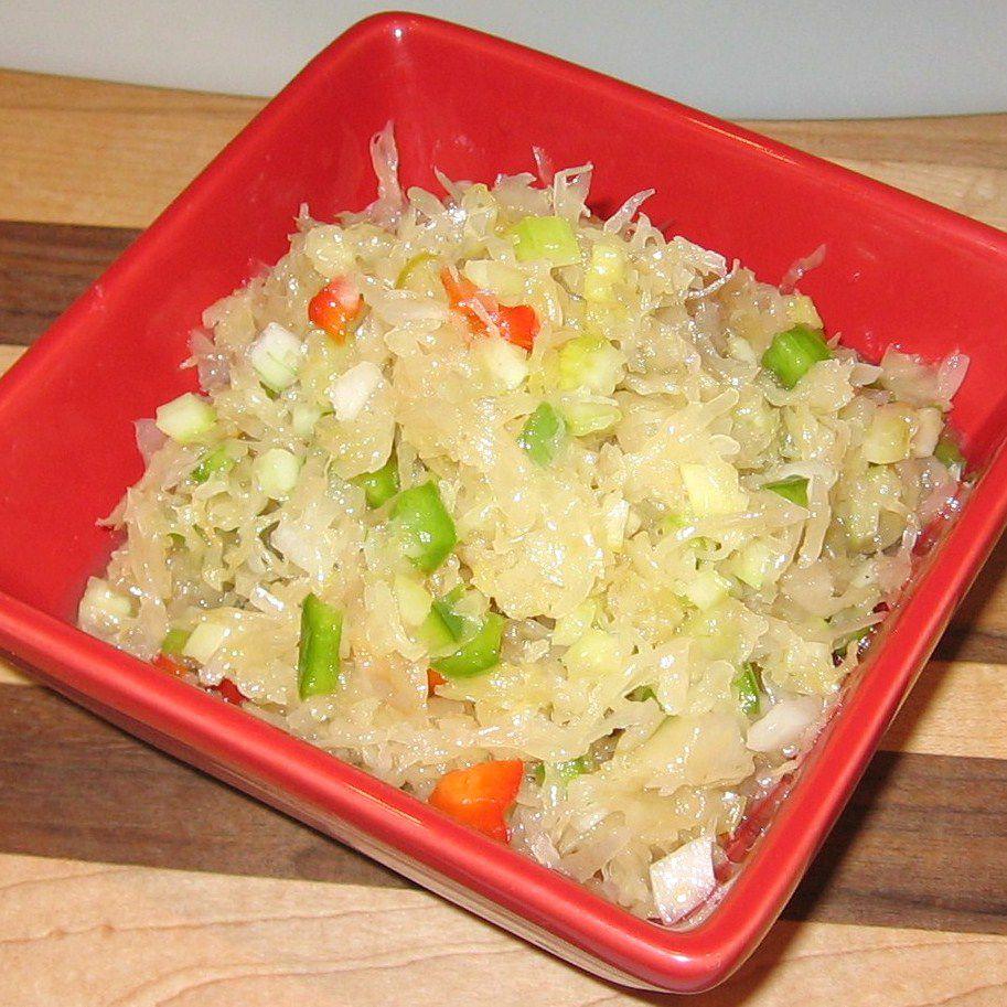 Serbian Sweet Sauerkraut Salad