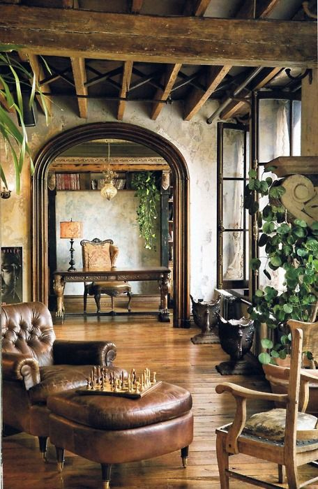 Design 101 tuscan style decorating for Tuscan interior designs