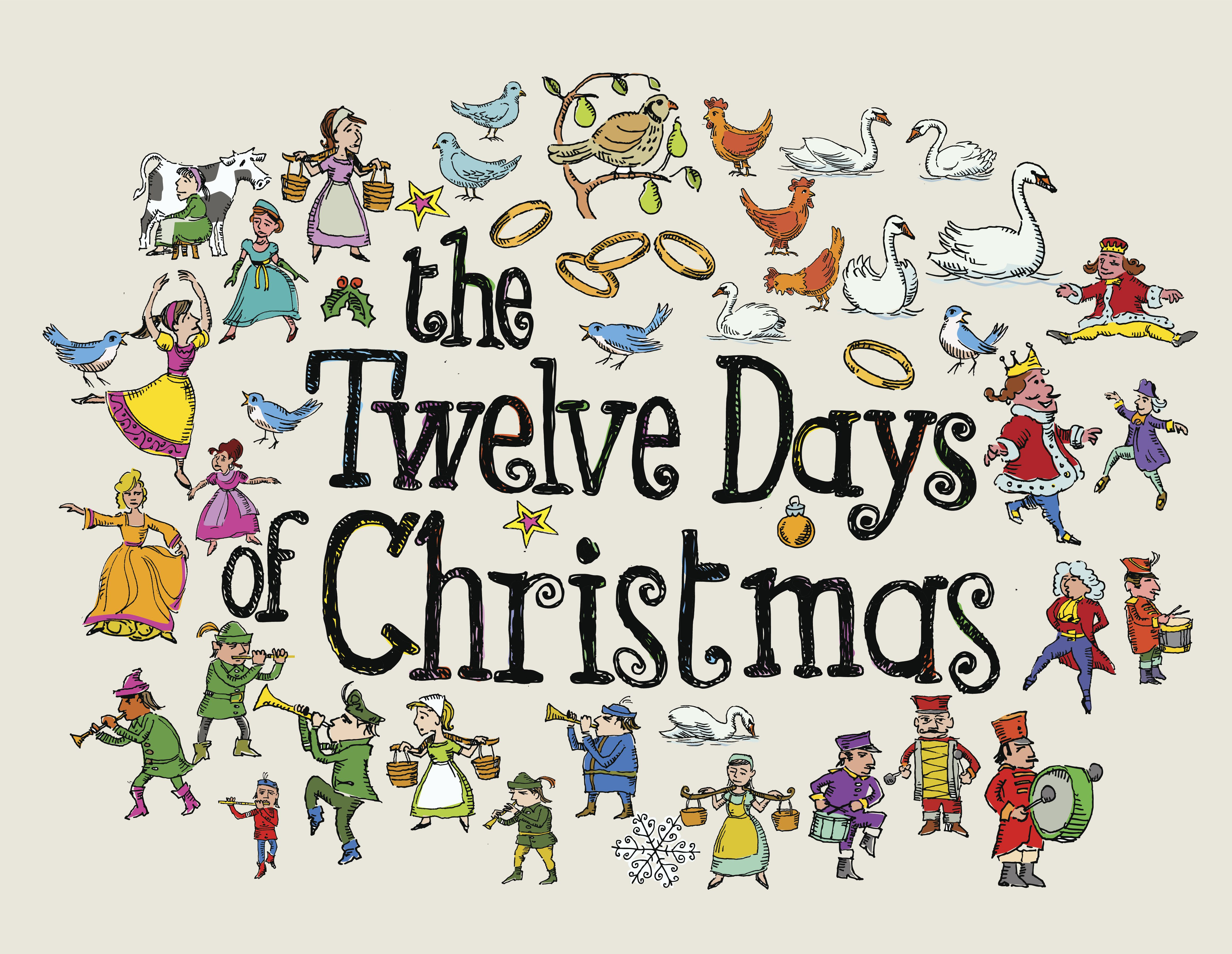 Does the 12 days of christmas have a hidden meaning free twelve days of christmas printables hexwebz Gallery