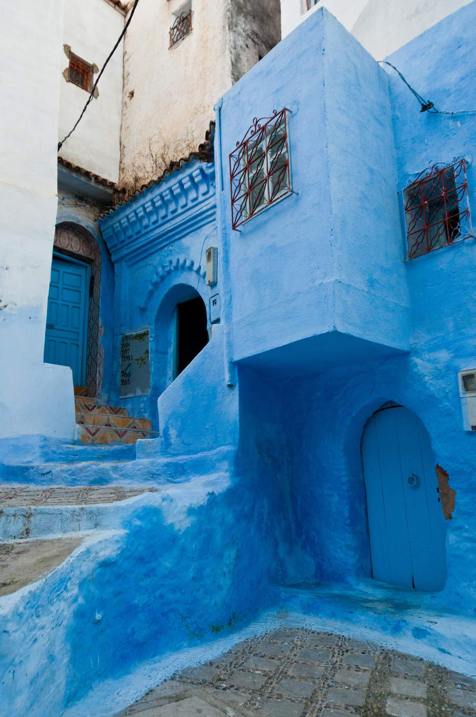 The blue town of Chefchaouen is not too far from Tangiers