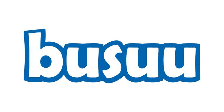 Screenshot of the busuu logo