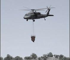 National Guard Battles Texas Wildfires