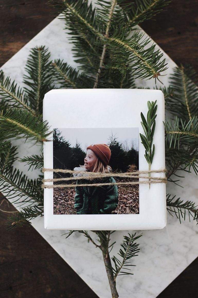DIY Photo Gift Tag