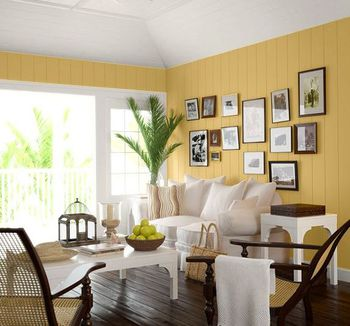 5 paint projects to update your living room for Update living room ideas