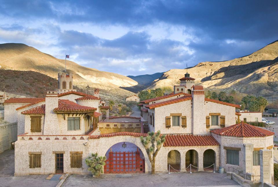 Scotty's Castle (Home of Gold Prospector), Death Valley National Park, California, USA