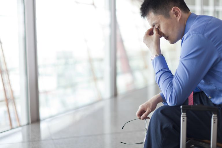 Stress can lead to high blood pressure.