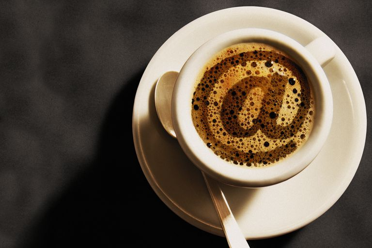 Coffee With At Sign