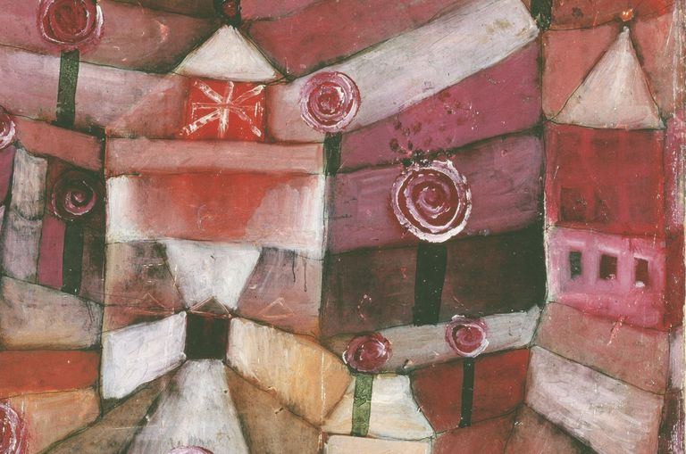 Expressionist painting by Swiss-German artist Paul Klee