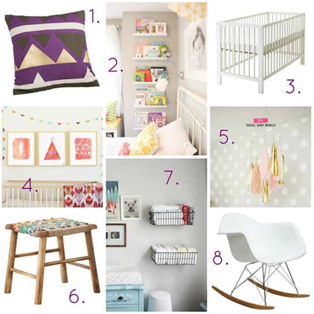 How to Make a Mood Board for the Nursery