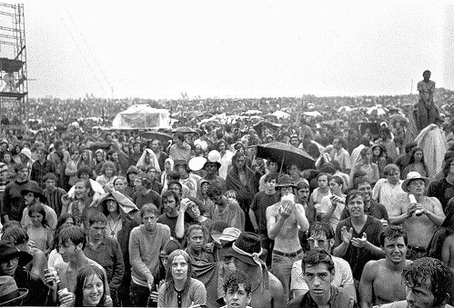 Some of the Woodstock audience