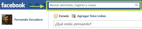 Cómo buscar personas en Facebook - Busca a personas